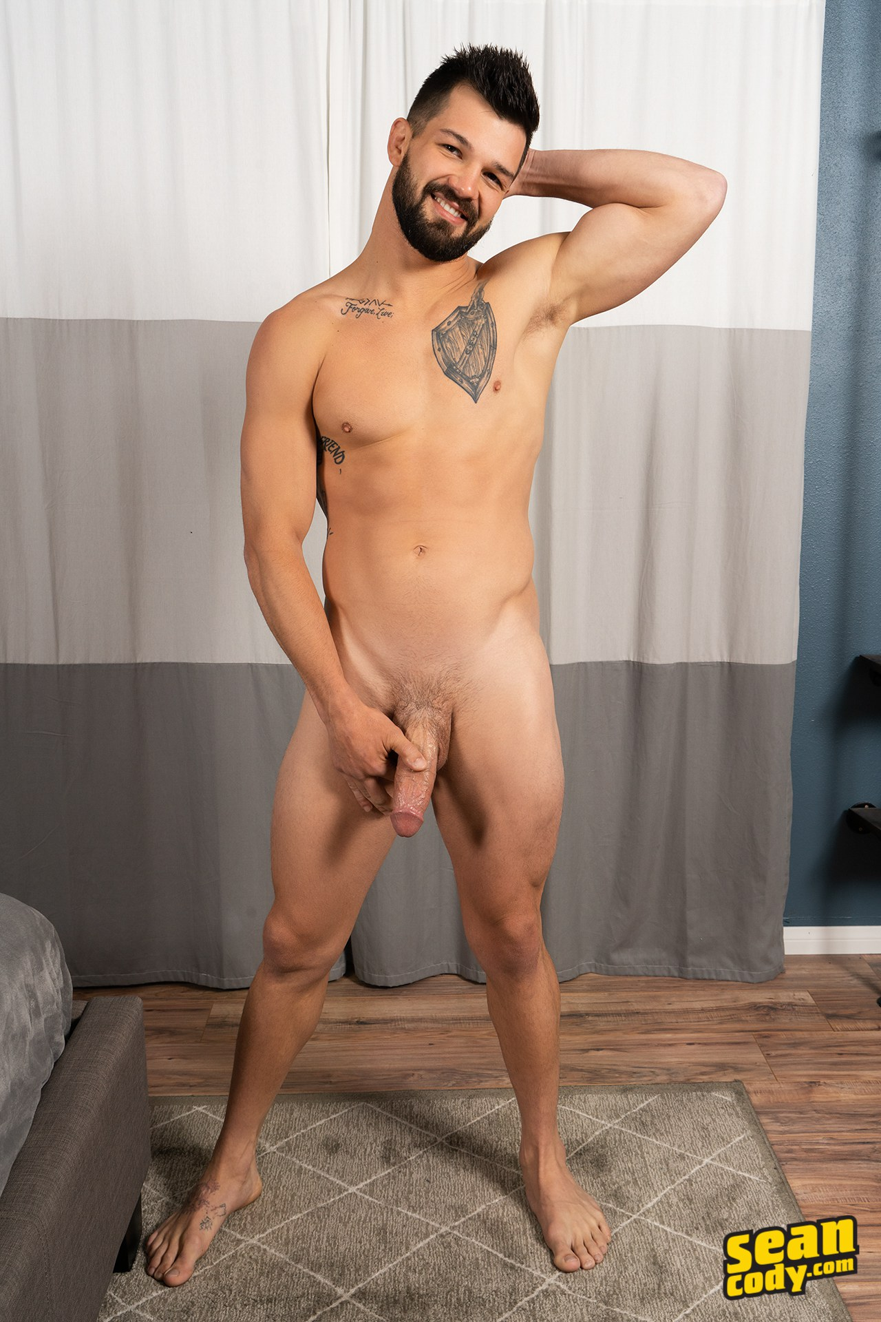 Gay studs from Sean Cody bareback fucking