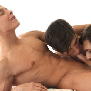 Belami Online gay boys having a threesome