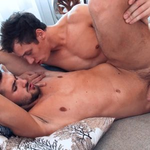 Jeff Mirren and Pierre Cezanne having sex