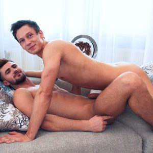 Jeff Mirren and Pierre Cezanne having sex