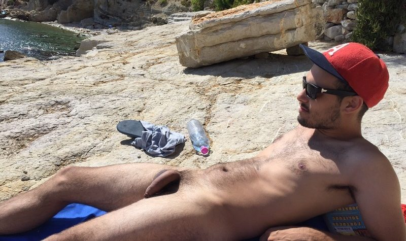 Nudist With A Big Soft Uncut Cock