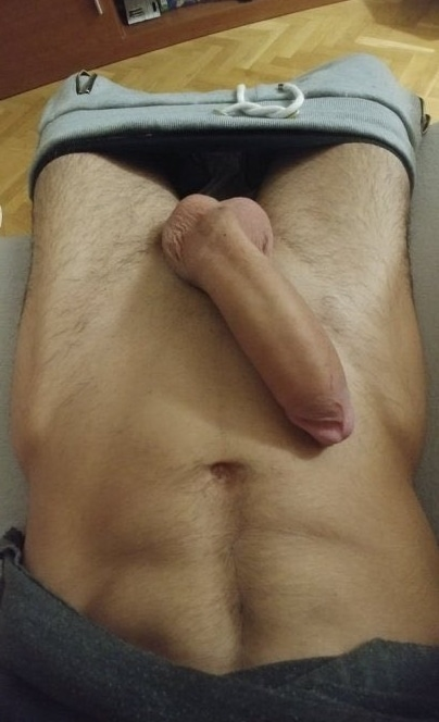 Big thick shaved cock
