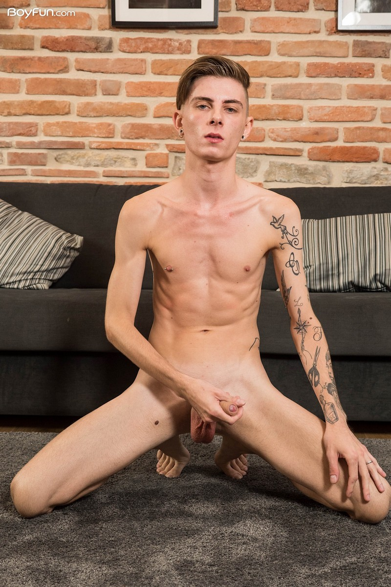 Boy Showing Cock