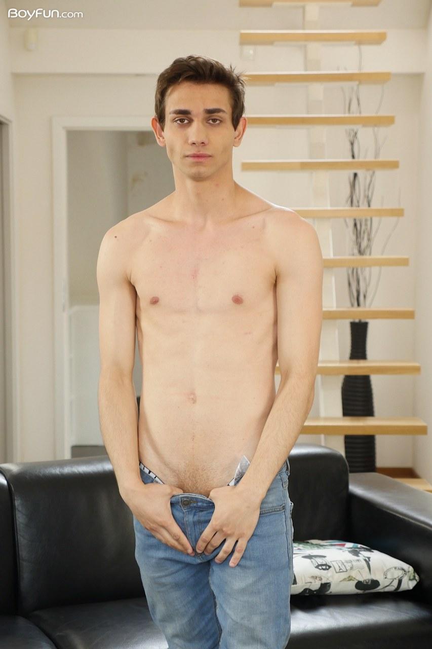 Lior Hod from BoyFun showing off his hot body