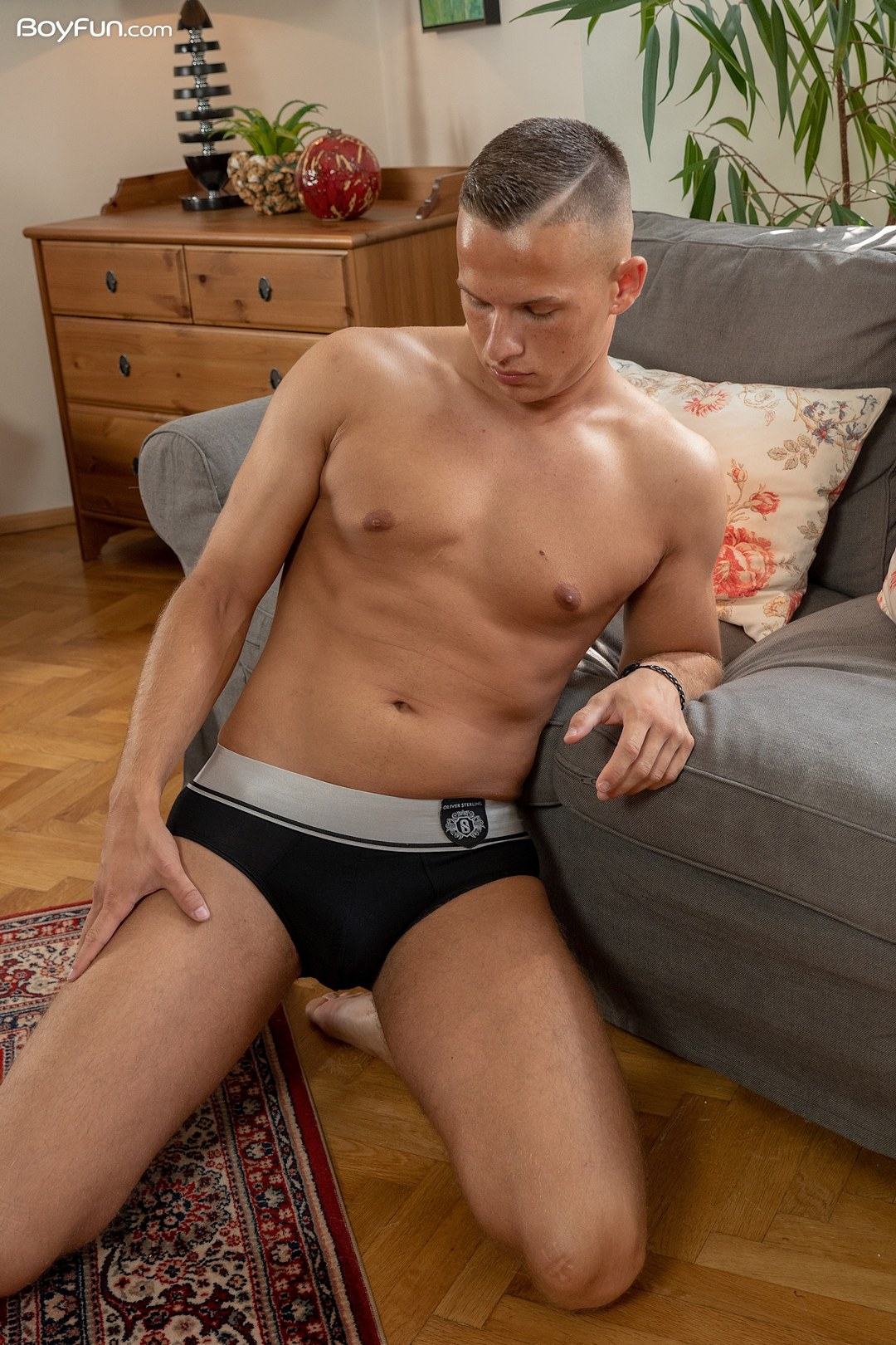 Boy With A Smooth Shaved Cock