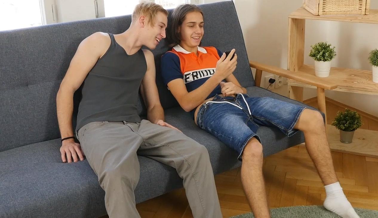 Cute gay boys fucking