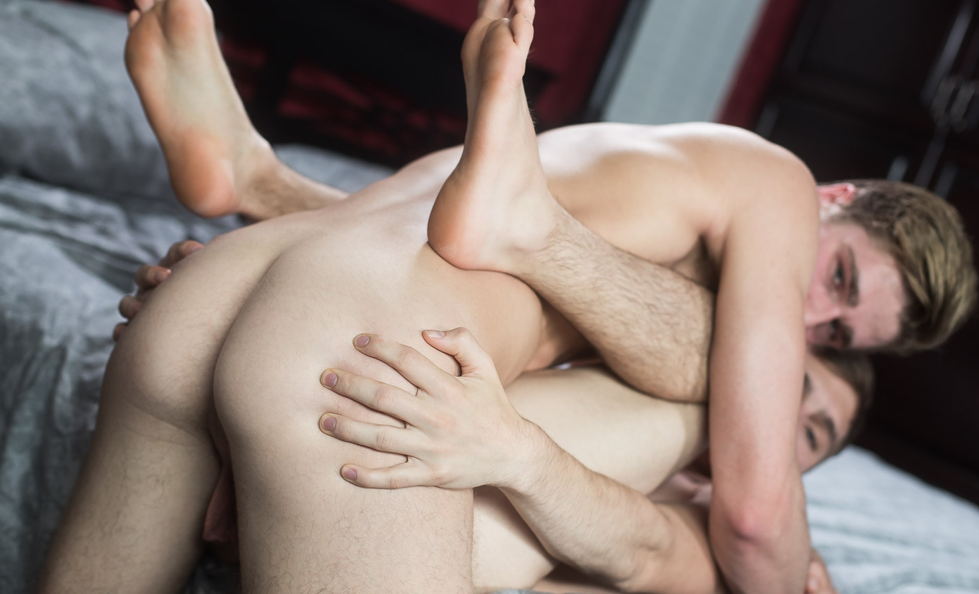 American gay boys sucking and bareback fucking