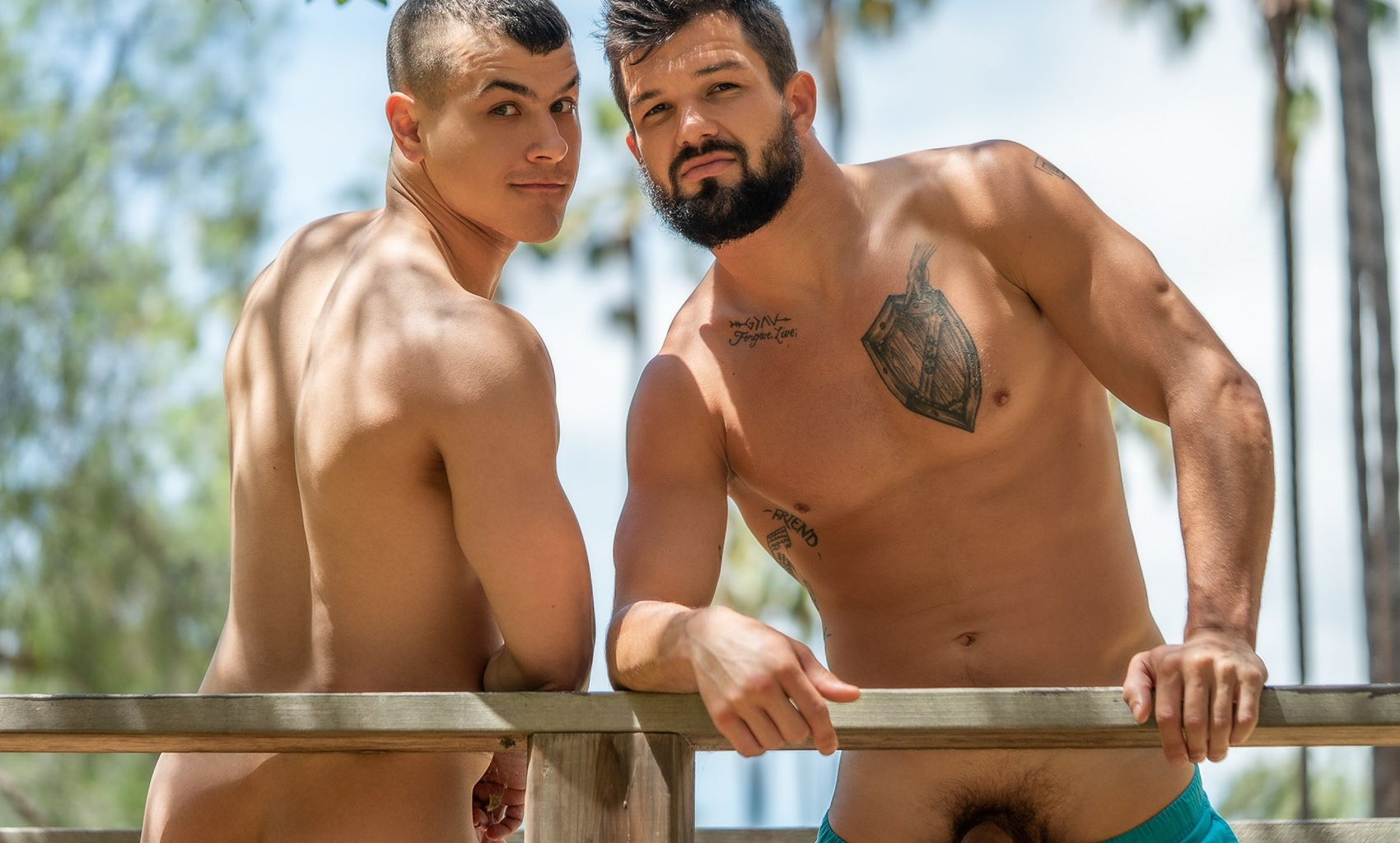 Muscular guys from Sean Cody having sex
