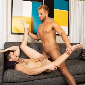 Gay studs with cut cocks bareback fucking