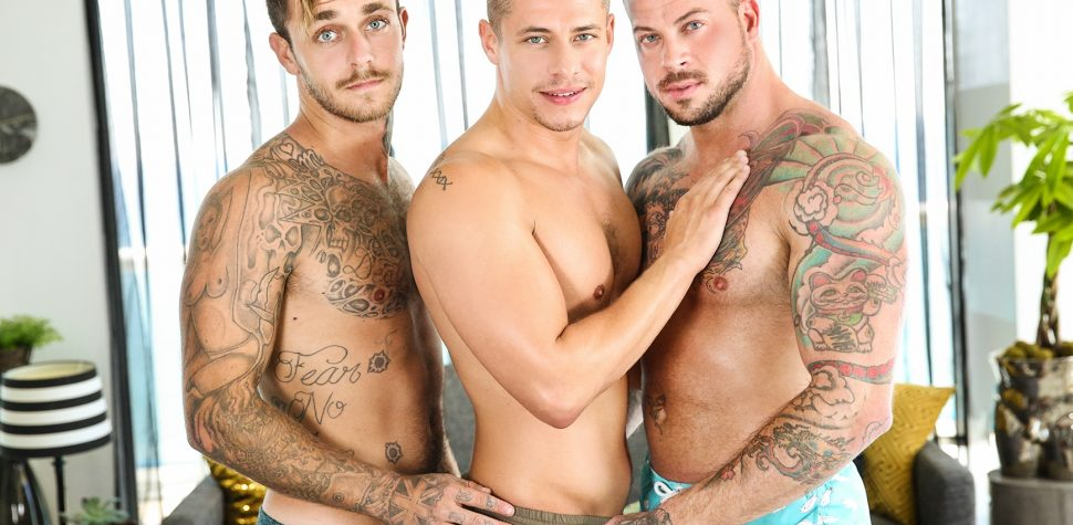 Naked three some men — 14