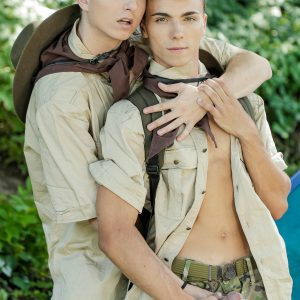 Gay twinks fucking outdoors