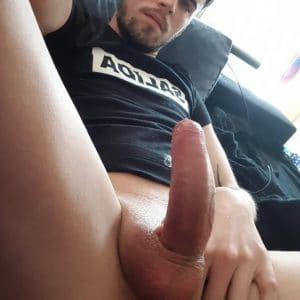 Guy with a big cock