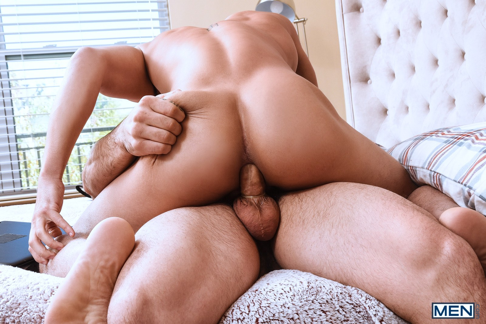 Gay men having hardcore anal sex