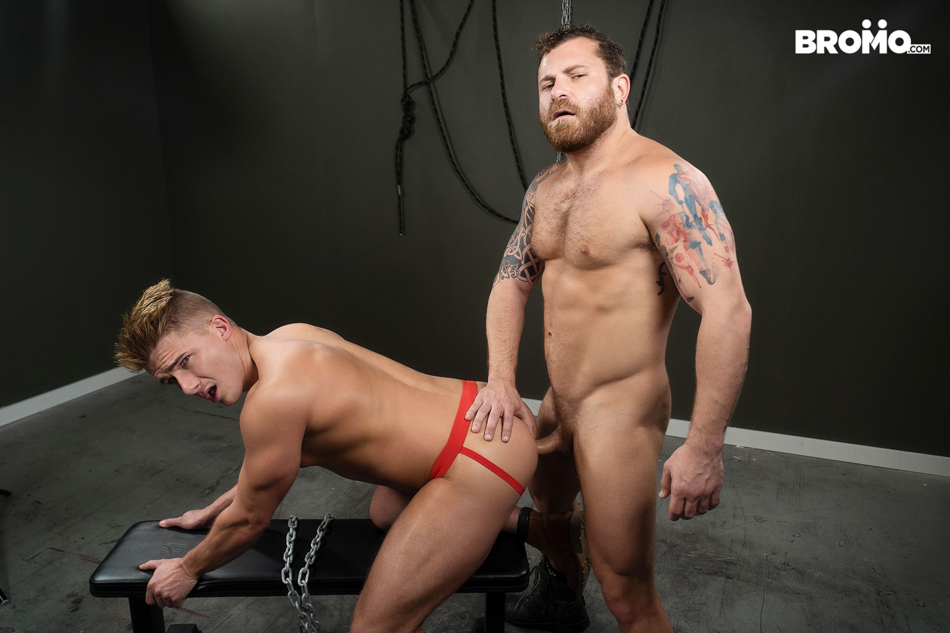 Gay porn star Jake Porter getting fucked