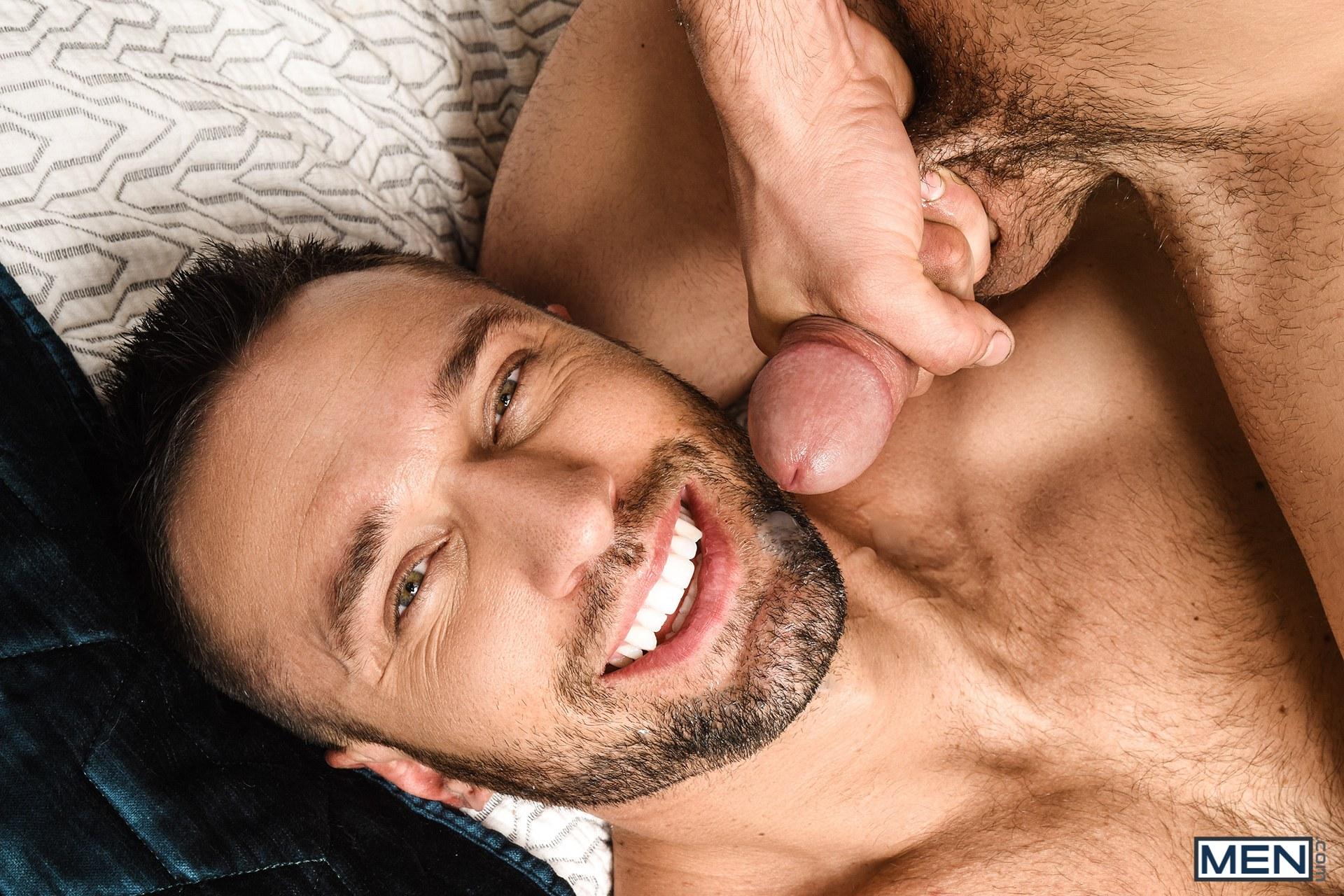 Gay porn star Johnny Rapid fucking Colby Tucker