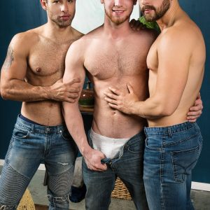 Gay men having hardcore sex