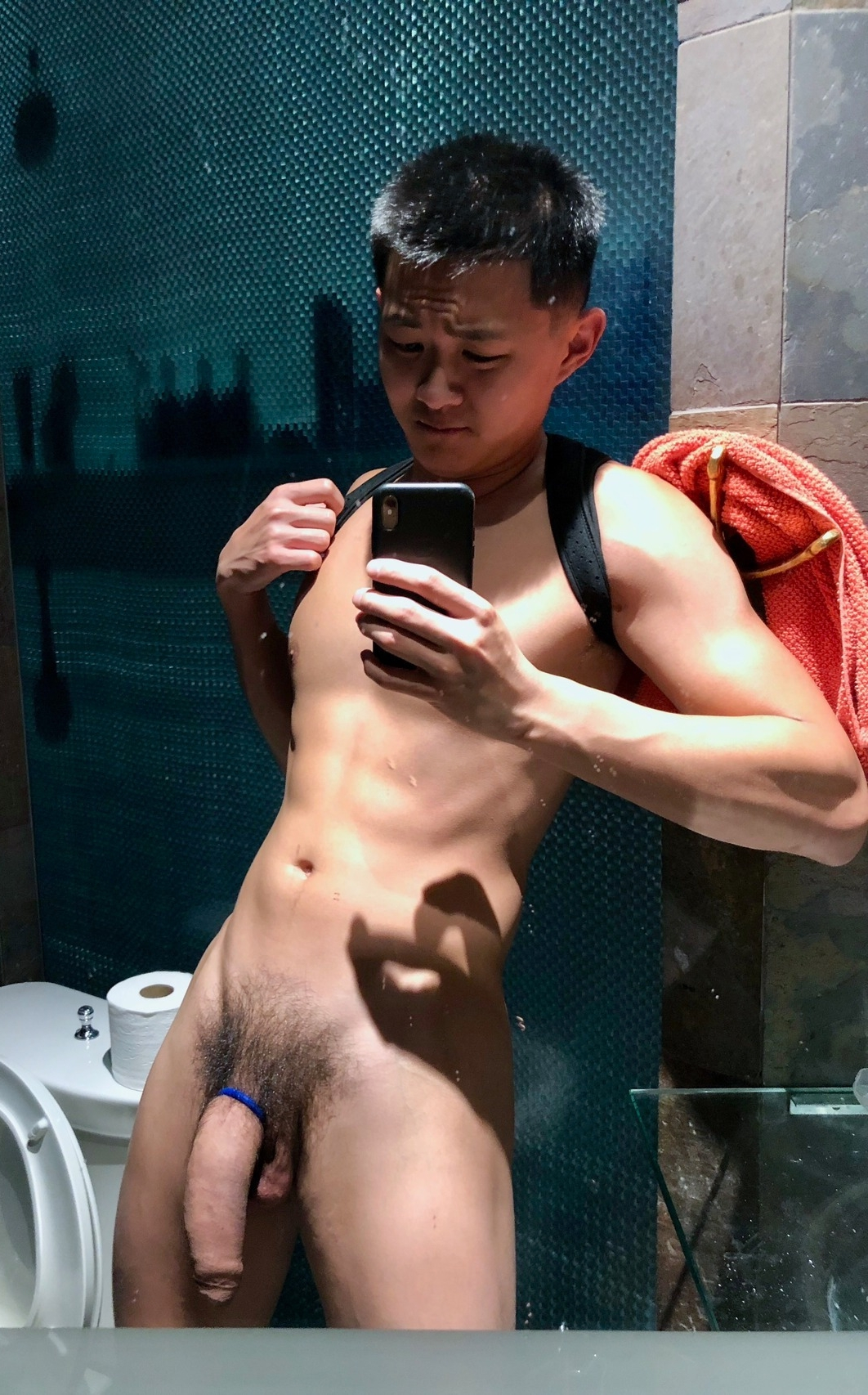 Nude asian big cock