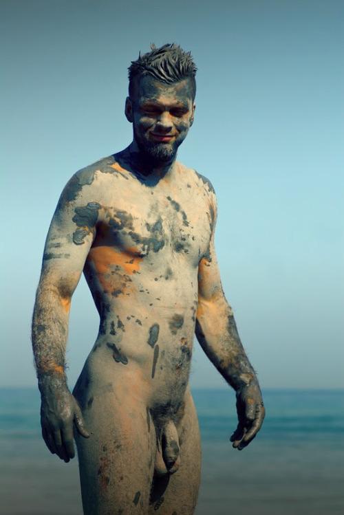 Nude Beach Man