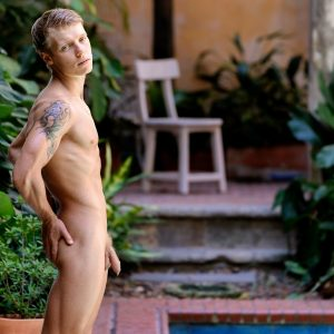 Nude European Boy