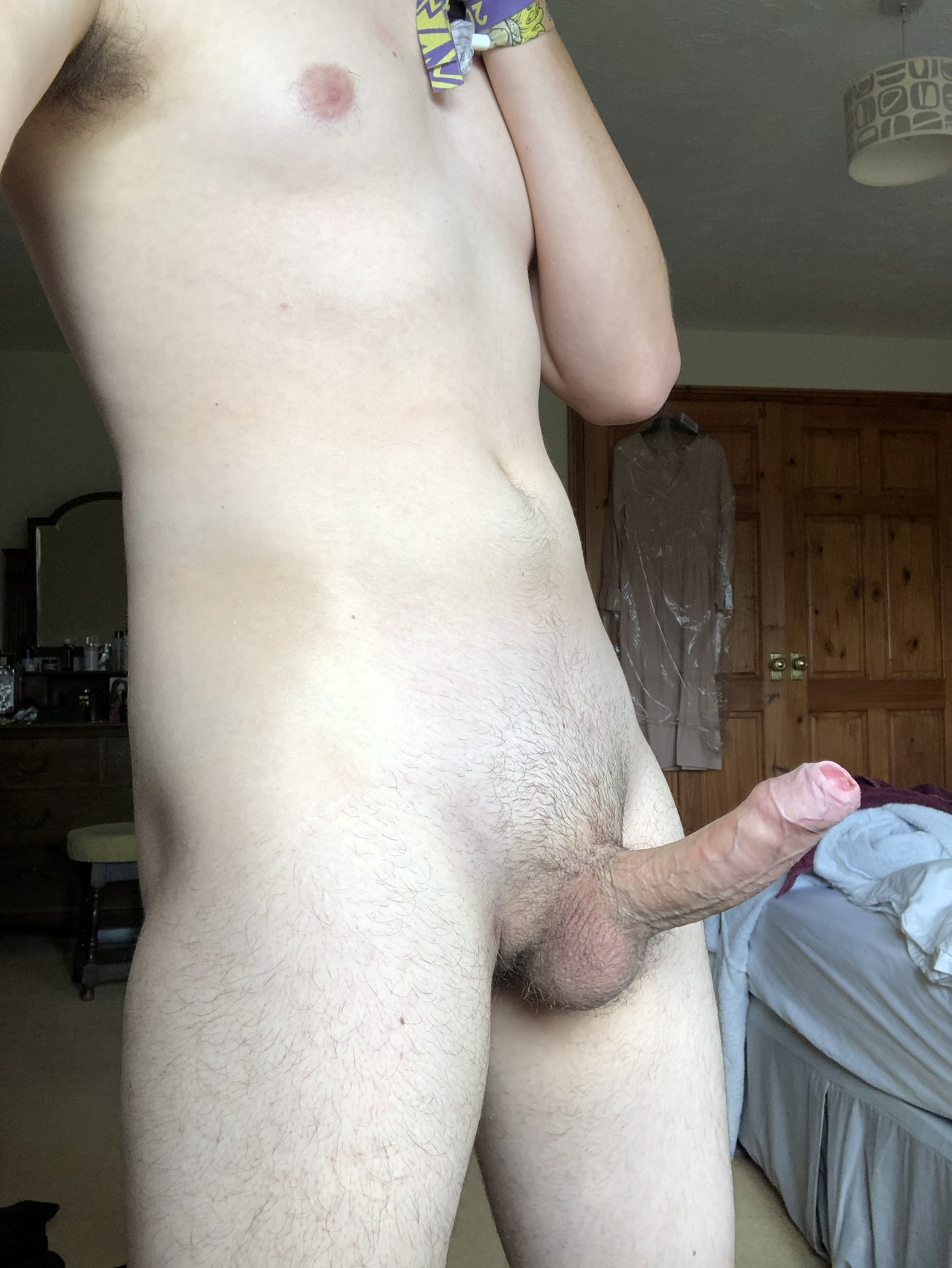Nude guy with a hard dick