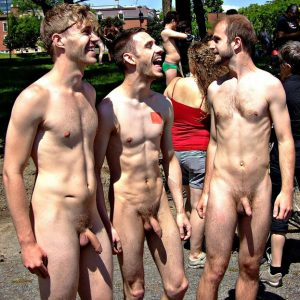 Nude Guys In Public