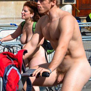 Nude Hunk In Public