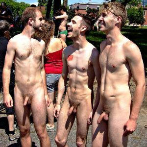 Nude Men In Public