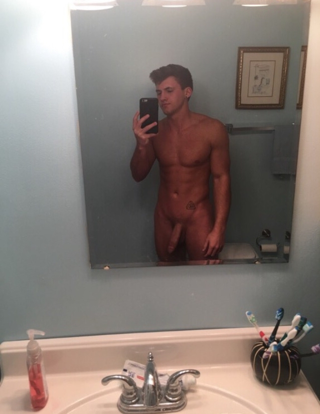 Nude mirror boy