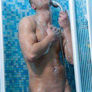 Nude Shower Boy