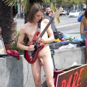 Nudist Boy In Public