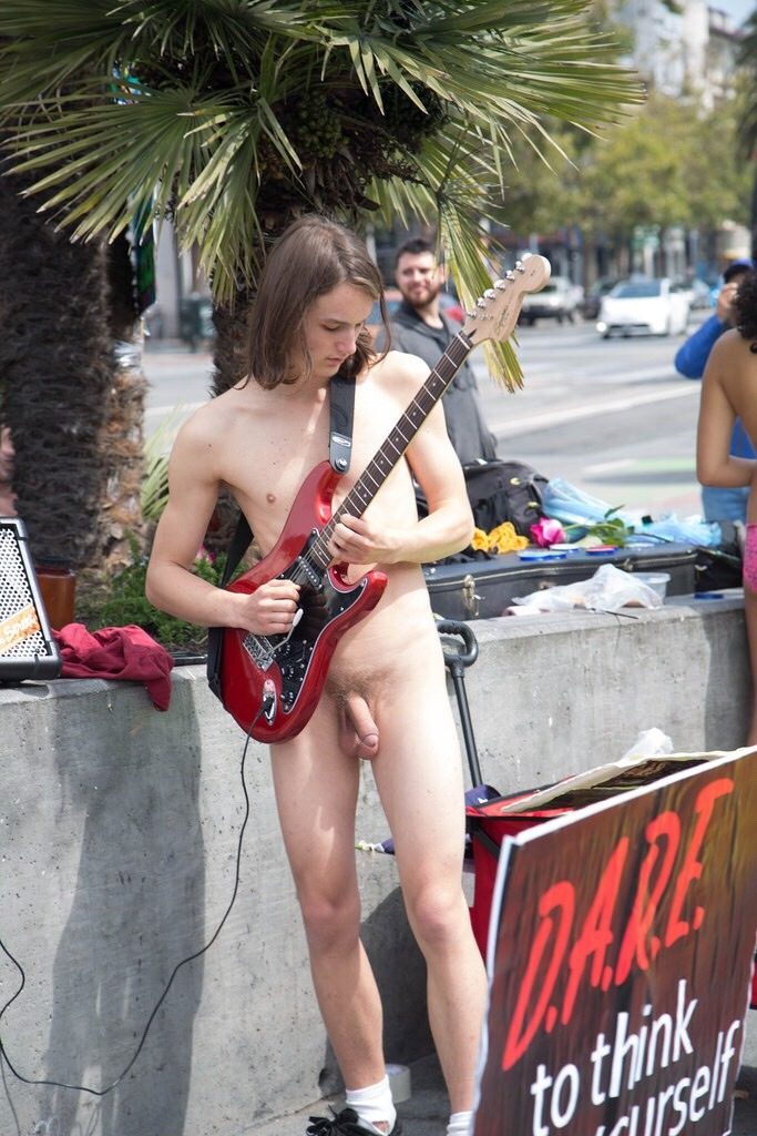 Nudist Boy In Public
