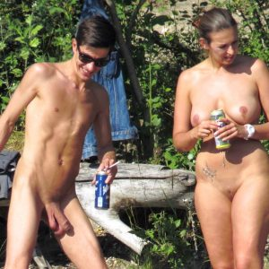 Nudist Couple