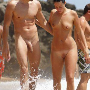 Nudist With Big Cock