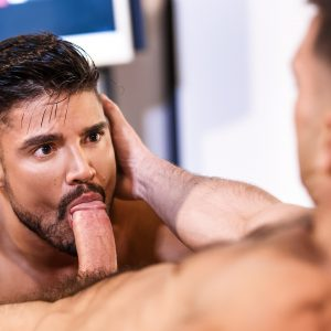 Gay porn star Paddy O'Brian fucking Dann Grey