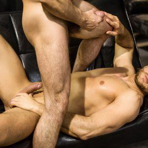 Gay porn star Paddy O'Brian fucking ass