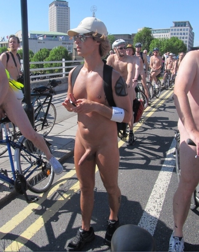 Public nudity erection