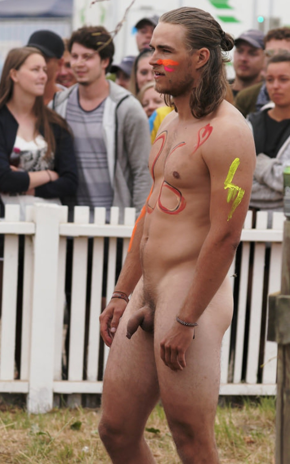 Public Nudity Man