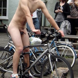 Public Nudity Man