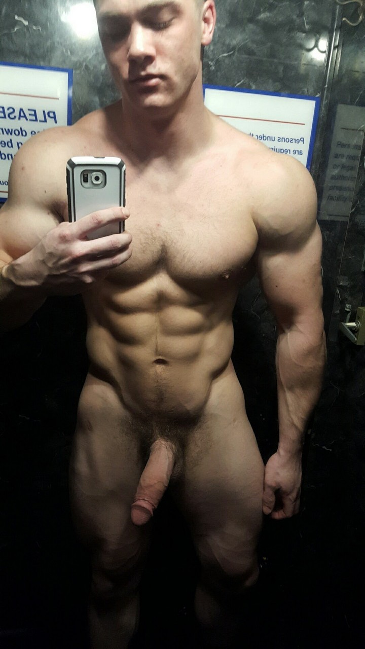 Selfie Boy Showing Cock