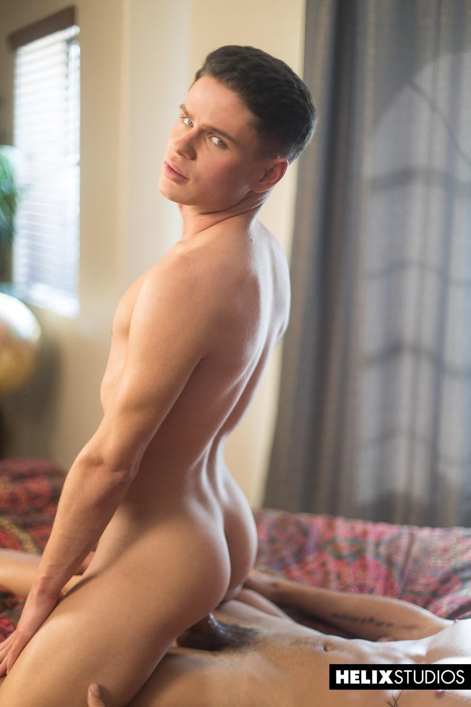 Sexy gay boys bareback fucking