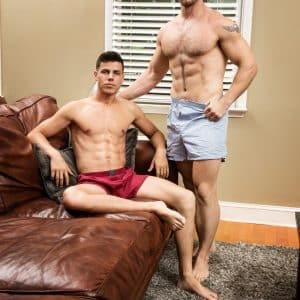 Sexy stud getting fucked