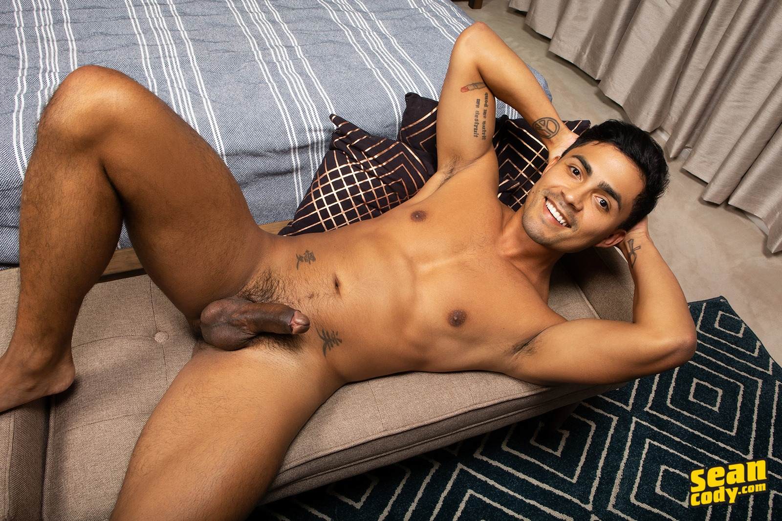 American studs making bareback gay porn