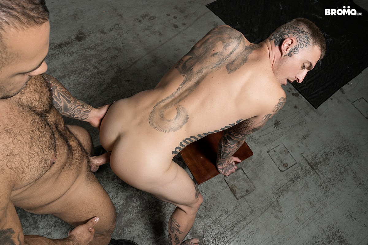 Tattooed Men Fucking