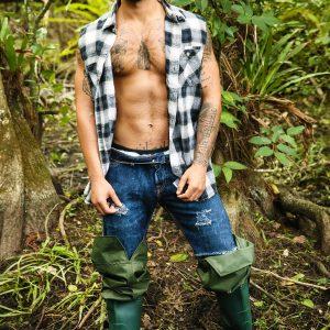 Gay porn star Vadim Black and Luis Rubi